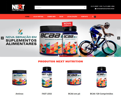 LOJA VIRTUAL NEXT NUTRITION